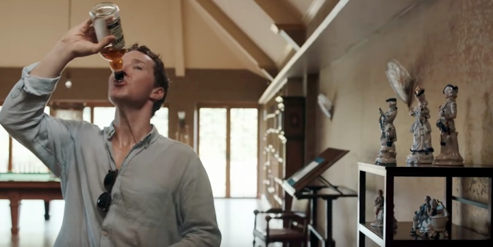 Benedict Cumberbatch swills drink in first-look Patrick Melrose trailer