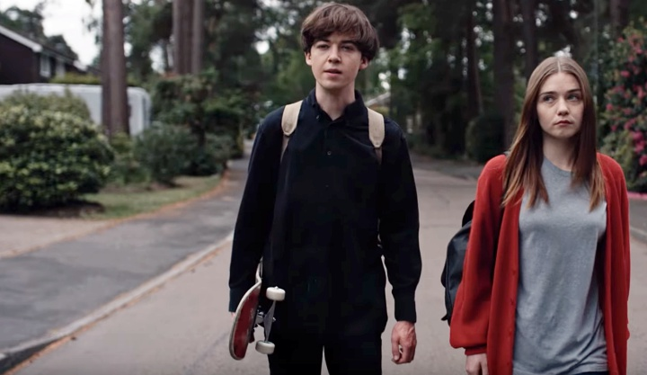 Netflix Announces New Series 'End of the F***ing World', Releases Trailer