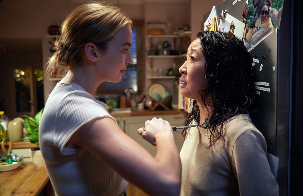 Sandra Oh is at a knife's edge in Killing Eve first look