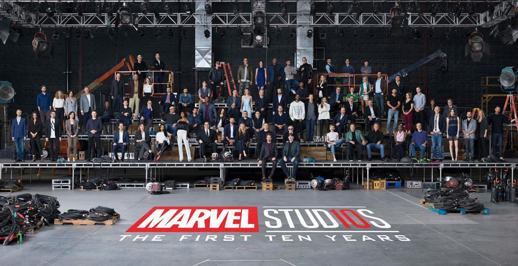 Marvel Cinematic Universe Stars Unite for One Epic Class Photo